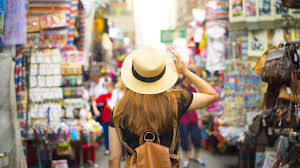 shopping with a hat